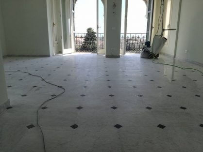 Pavimento levigatura e lucidatura pavimento marmi granito for Levigatura parquet prezzi